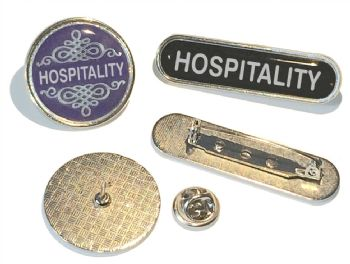 HOSPITALITY badge